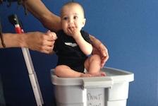 Upstream Arts infant participant