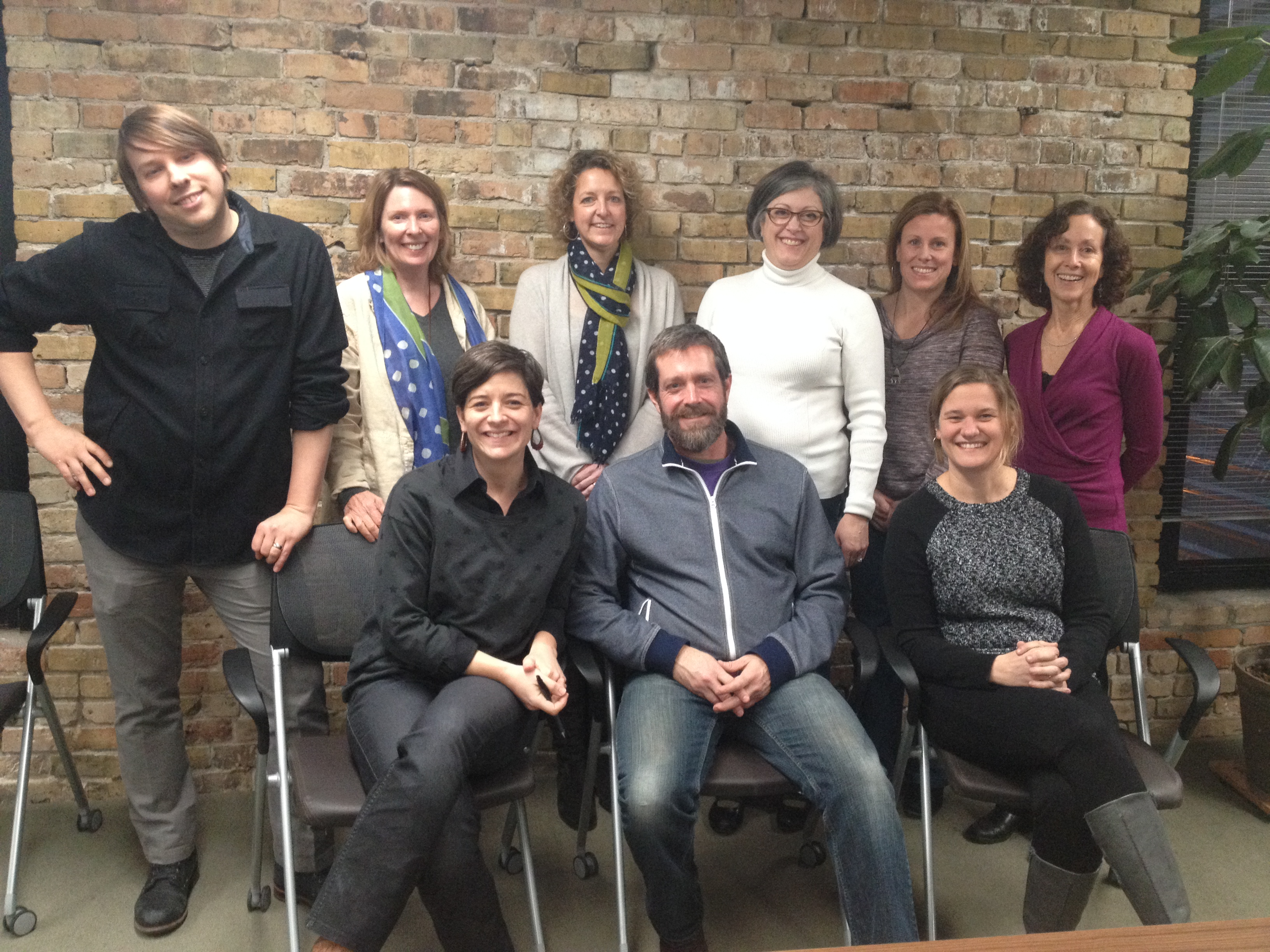 Upstream Arts Board of Directors and Full-Time Staff
