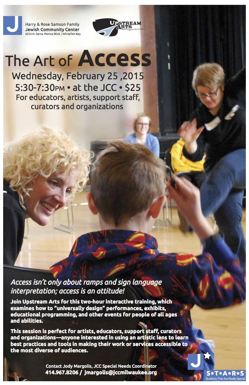 February Upstream Arts Opportunities in Milwaukee