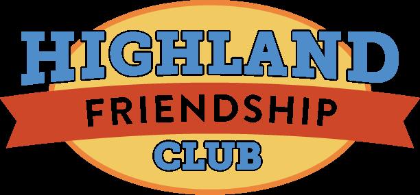 A photo of Highland Friendship Club's logo