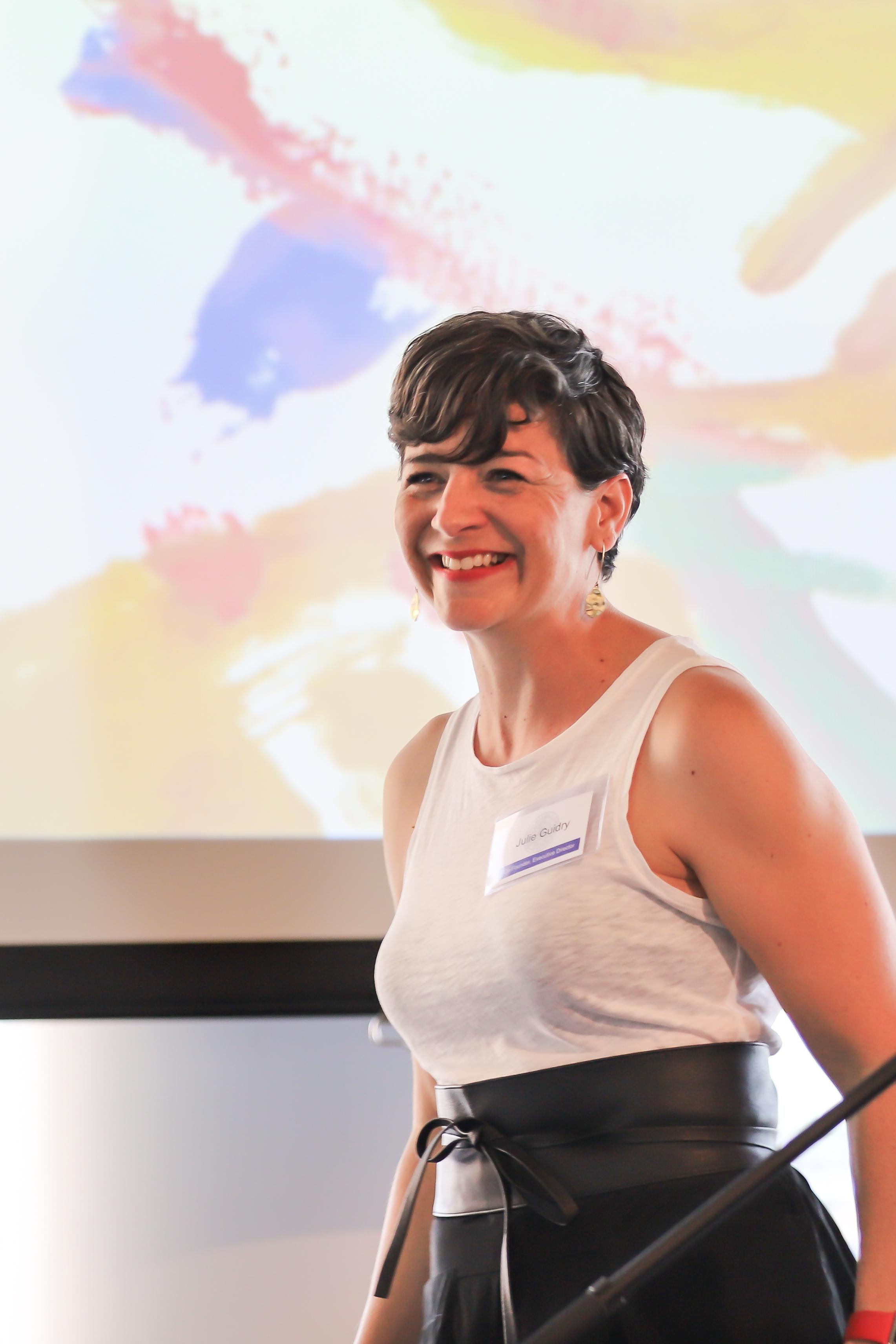 Executive Director Julie Guidry