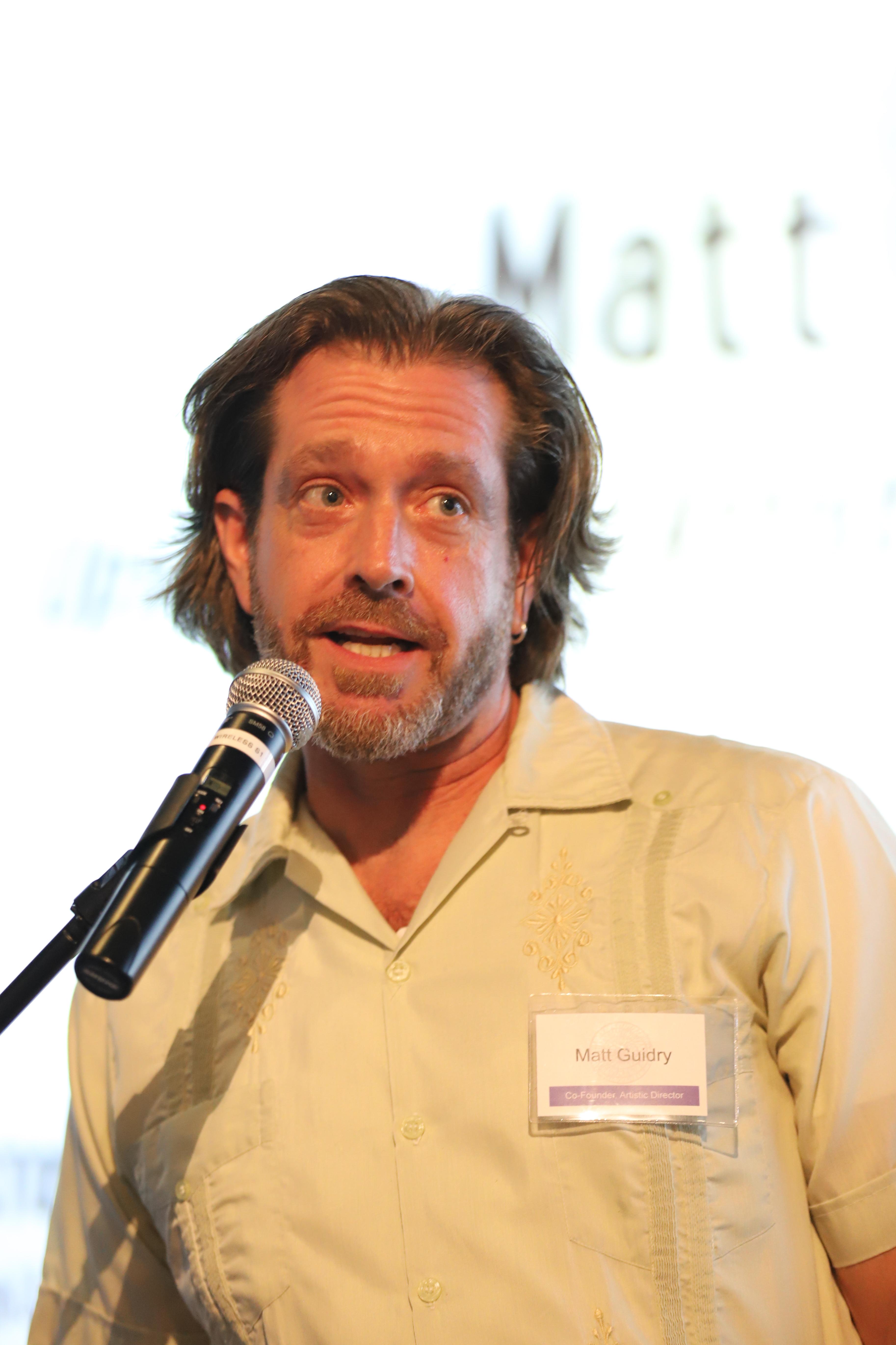 Matt Guidry, Executive Director.
