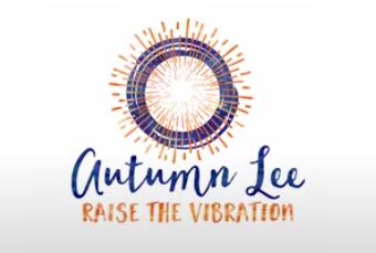 logo for Autumn Lee, Raise the Vibration