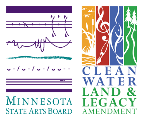 Logo from Minnesota State Arts Board and Cultural Legacy Amendment